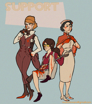 TF2 Genderflips: Support by paisley