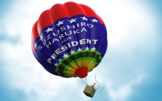for president by Icemera
