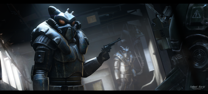 Enclave soldiers | Fallout World by TakeOFFFLy