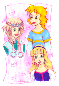 There're Disney princesses... by Lahara