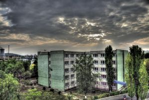campus hdr by iacobvasile