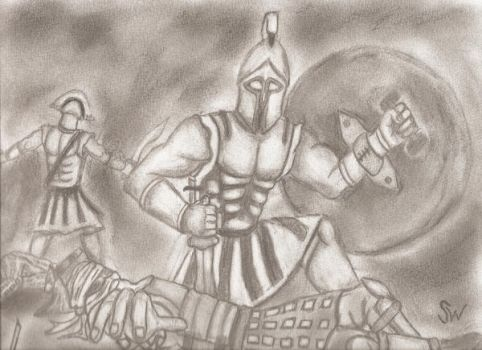 Spartans by evilweasil2003