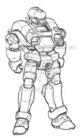 High Mobility Powersuit by GTDees