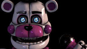 FNAF:SL Funtime Freddy Title Screen Remake by TheImperfectAnimator