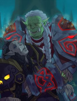 Saurfang family reuinion. by DOXOPHILIA