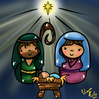 A Child Is Born by Hoshi-dono