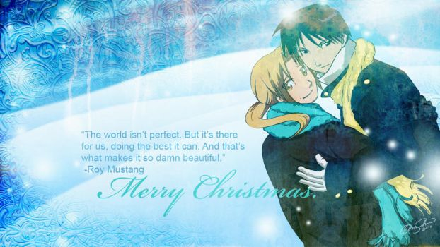 FMA: Merry Christmas 2010 by KrisKenshin