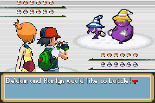 Ash and Misty vs Beldam and Marlyn by BeeWinter55