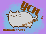Pusheen Your Character Here!!! by SamTheMoose101