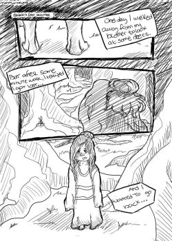 Shiriki's story (Old account drawing #4) by sparklingarse