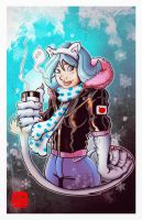 Felicia in the winter by SeanLenahanSD