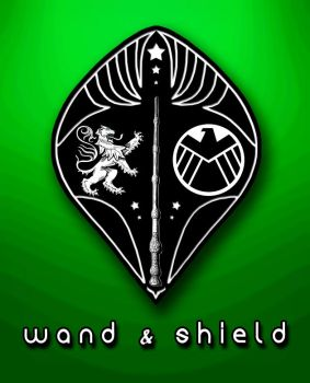 Wand and Shield by haydenelrics