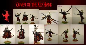 Haemonculi of the Red Hand by EmperorBassexe