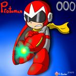Protoman by G-Bomber