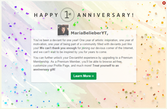 OMFG 12 MESES! by MariaBelieberYT