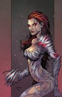 Witchblade By Broussard by DEADNEMO