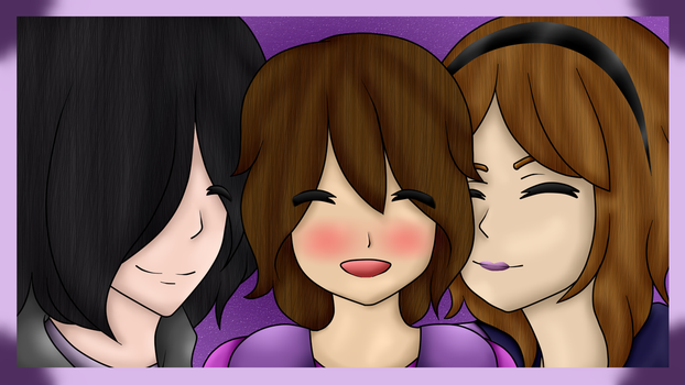 Happy family! (Lois, Dayanna and Faby) [Collab] by lima480