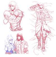 + Castlevania: Last drawings of the year ! + by Yore-Donatsu