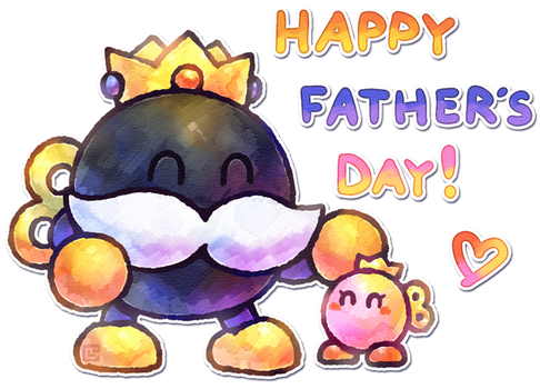 Happy Father's Day by Louivi