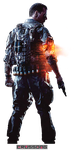 Battlefield 4 - Soldier Render 3 by Crussong on DeviantArt