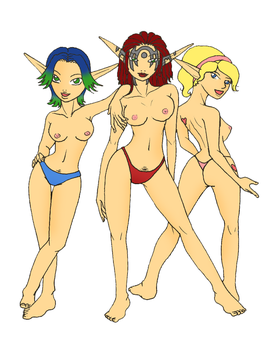 jack and daxter girls