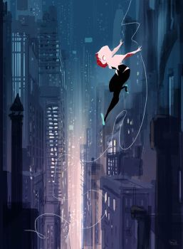 Spider Gwen by PascalCampion