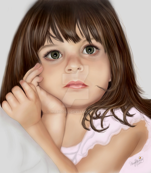 Portrait of Caylee Anthony by MariColl