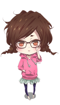 Chibi - Unnamed OC Girl by csyc