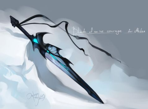 ice blade by Orphen-Sirius