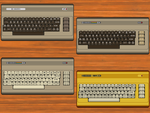 Commodore C64 Icons by alreadybeenclaimed