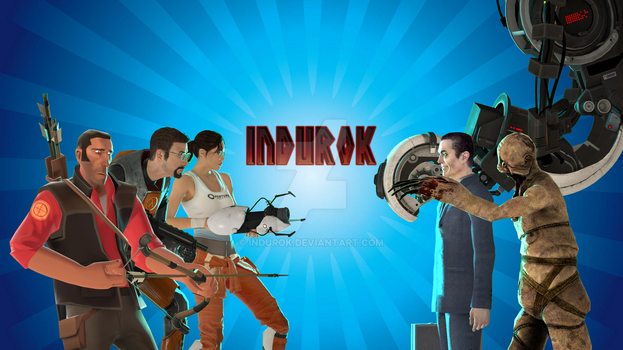 YouTube Channel Art by Indurok