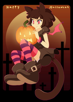 .:HappyHalloween2013:. by Mangostaa