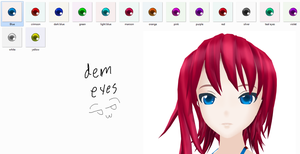 MMD Gleam Eyes pack by Sezfox