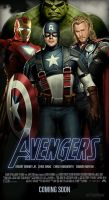 Avengers Movie Poster 1.4 by ALilZeker