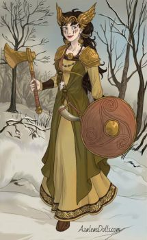 Sigrid the great viking by Violetdahila
