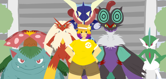 Poketeam by WolfyTails