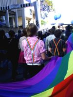 Gay Marriage Rally 3 by Rosary0fSighs