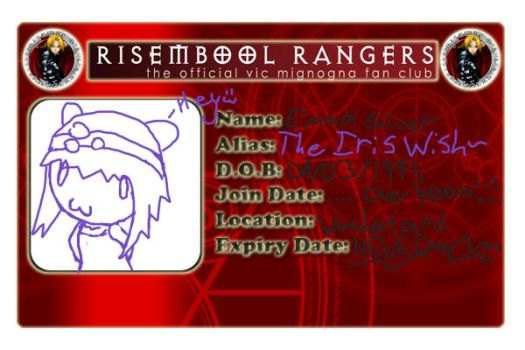Risembool Ranger card by TheIrisWish