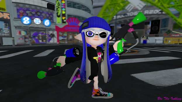 Indigo (Splatoon 2 Generation) by britheinkling
