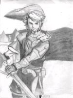 Link-Twilight Princess by MonkeyHeartless