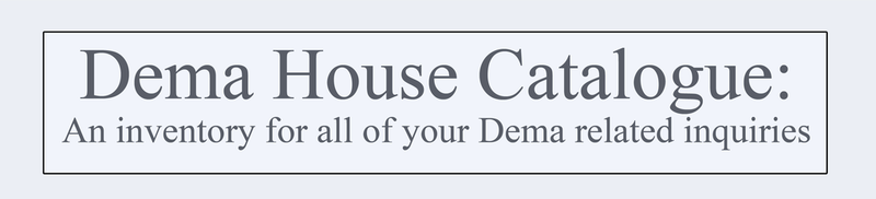 Dema House Catalogue by BluePawProductions