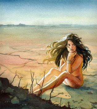 Desert Girl by Flingling