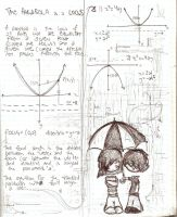 Math book rain by Ungat-trunn