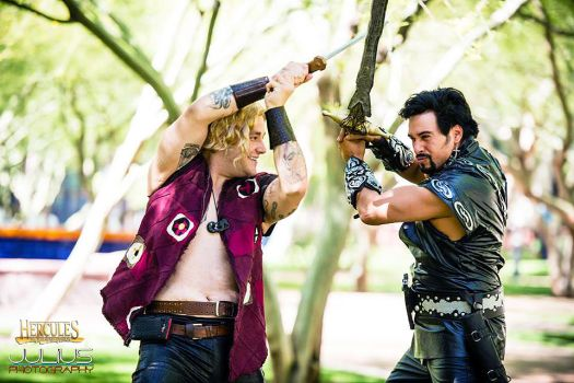 Hercules and Xena Chapter 1, a xena: warrior princess fanfic