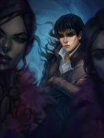 The Outsider and brigmore witches by Vrihedd