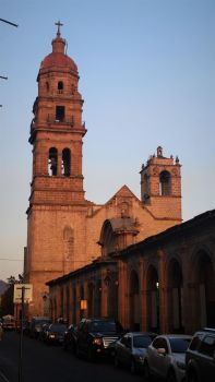 Morelia, Church of St Augustine at Dusk by BabakoSen