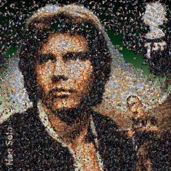Han photo mosaic by Mosaikify