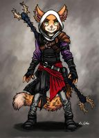 Eliza - Rifter Adept by TheLivingShadow