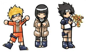 Naruto Chibis by im-with-no-name