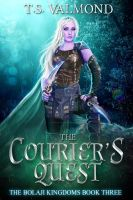 The Courier's Quest (Book Cover) by FrostAlexis